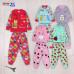Пижама для девочек с начесом (2-6 лет)