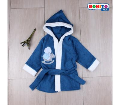 Банный халат для детей (2-6лет)