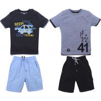 Кофта и шорты для мальчиков (2-5 лет)
