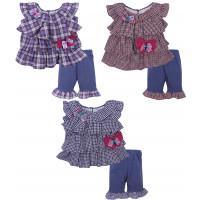 Кофта и шорты для девочек (1-2 года)