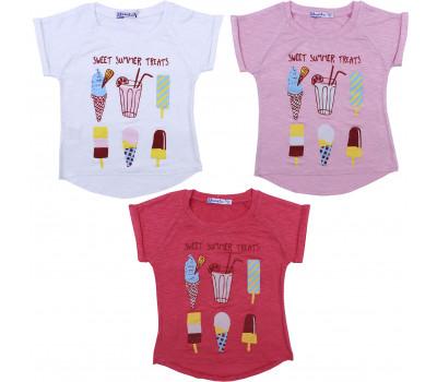 Кофта для девочек (3-7 лет)