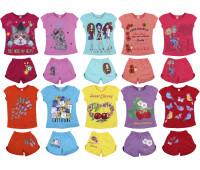 Футболка шорты для девочки (4-8 лет)