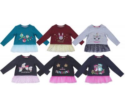 Кофта для девочек (2-5 лет)