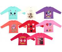 Джемпер для девочек (5-8 лет)