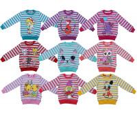 Джемпер для девочек (2-5 лет)