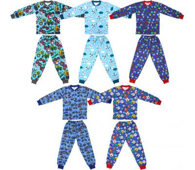 Пижамы трикотажные для мальчика (7-10 лет)