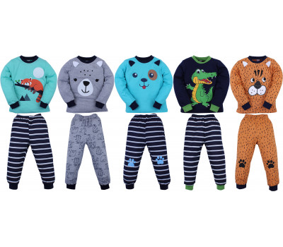Пижама для мальчика (3-7 лет)