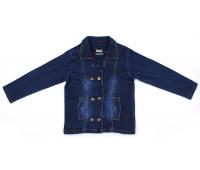 Пиджак джинсовый для девочки (3-7 лет)